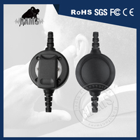 Raytalk PT#50 Big Round 3.5mm 2.5mm PTT with Belt Clip for Talkie Walkie Motorola