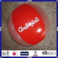 China made inflatable personalized beach ball