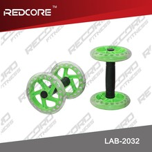Plastic exercise wheel ab roller/ ab fitness core