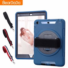 Promotional 360 Degree Rotating hand strap for ipad mini 2 shock proof case