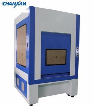 Chanxan Laser galvo flying denim jeans fiber laser marking and engraving machine