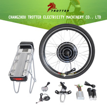 48V 750W motor electric bike conversion kit with lithium battery