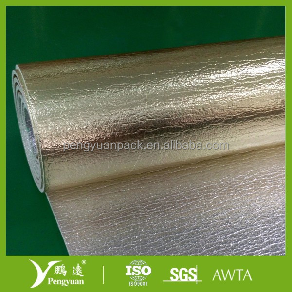 New material XPE foil insulation for car sunshade