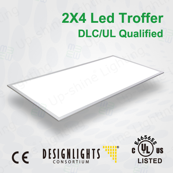 5year warranty UL DLC approved LED 2x4 Recessed Troffer dimming led panel Fixture