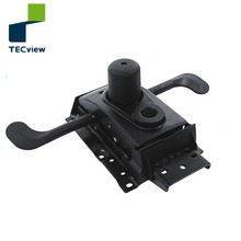 Split Tilted swivel locking safety function recliner chair mechanism parts for office chair with Seat back adjustment