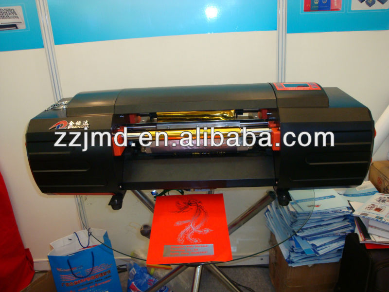 plateless printer 2012 new innovation digital hot foil machine, Gilding machine,passed CE