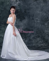muslim new model 2013 wedding dress