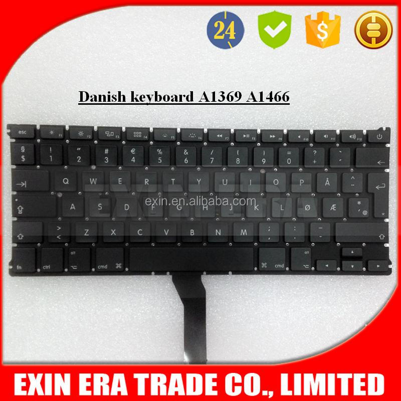 Dansk Norsk Danish Norwegian Keyboard for Apple Macbook Air A1369 A1466 13""