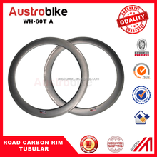 2016 new design and high quality full carbon road rims, 24/38/50/60/88mm light carbon rim, tubular/clincher for sales 60T