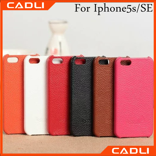 New fashion for iphone case leather case for iphone 5 leather mobile covers iphone 5 cover SE