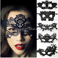 Wholesale New Design popular black lace masks sexy