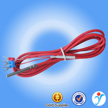 Wide usage silicone cable high temperature PT100 sensor