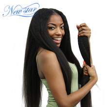 New Star 100% Virgin Human Hair Afro Kinky Straight Full Lace Wigs