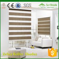 Price Indoor Home Window Day Night Zebra Roller blinds /Zebra Roller Shades/Zebra Curtains