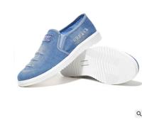 Fashion leisure shoes men sports casual man custom new flat jean shoes