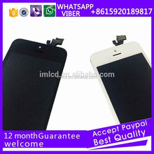 OEM lcd and digitizer assembly for iPhone 5
