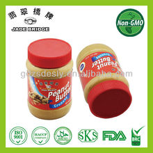 High quality peanut butter/paste jar crunchy taste roasted peanut