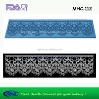 2016 Stocked fashionable lace mat fringe for cloth design of textile