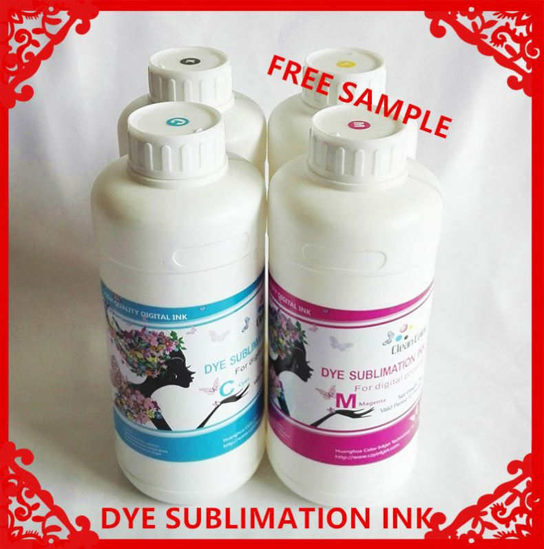 SGS Rohs certified sublimation inkjet ink for epson l100 printer