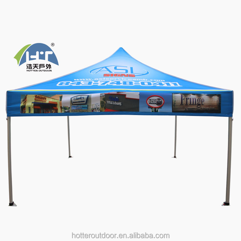 4x4m 40mm aluminum frame cheap printing canopy /foldable tent for promotion