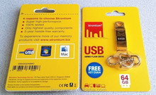 Strontium Ammo Series (USB2.0) Gold - USB Flash Drive 64GB