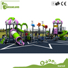 kindergarten huge wooden kids outdoor playground