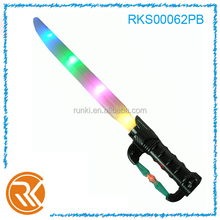 Kids light up toys plastic sword toy with flash light and music
