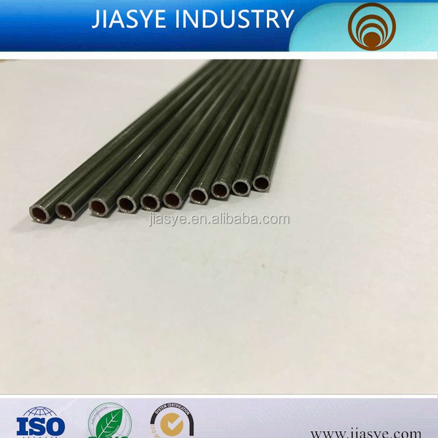 ASTM A254 ST15 6.35*0.5mm PVF coated double wall steel pipe bundy tube for brake pipe line of automobile
