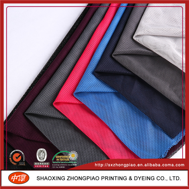 Sport Shoes poly mesh fabric