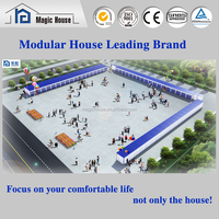 Foldable prefab container portacabin shop/Container House/Home/Office