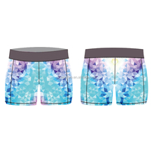 Wholesale hot sexy women colorful compression shorts