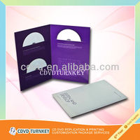 cd and dvd paper sleeve printing