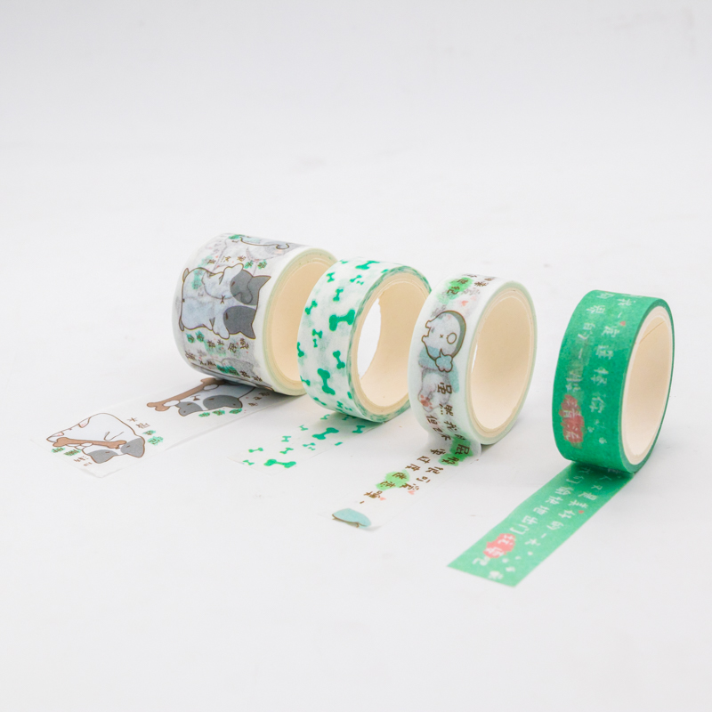 Custom Make Printable Washi Paper Sticker Tape