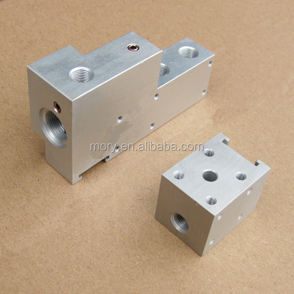 precision aluminum milling cnc machine work