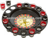 Shot Spinning Roulette Drinking Game Set (16-Piece)