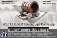 centrifugal concrete pipe machine