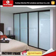 pvc window manufacturer high quality sliding door for bedroom,bathroom