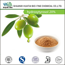 Pure cosmetic ingredients hydroxytyrosol 20% powder from Olea Europaea L. 32619-42-4