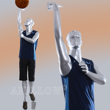 play basketball mannequin man sport mannequin on sale