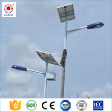 led solar road light yard lamp with solar pole , battery , controller