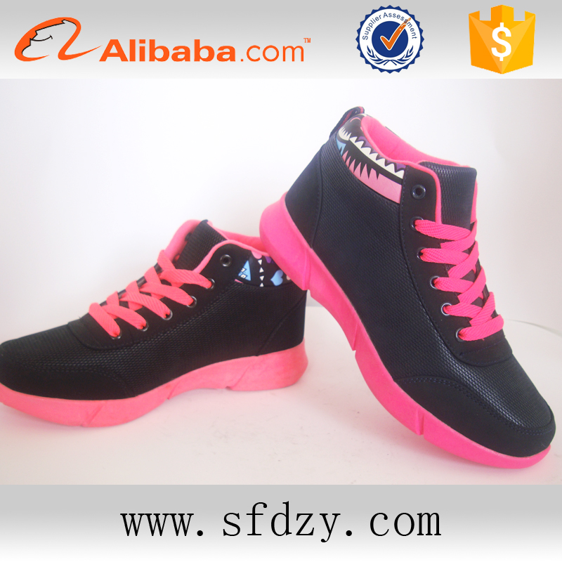 wholesale comfortable fancy stylish new design durable ladies casual footwear