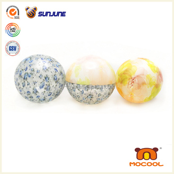 Girly Skip Air Ball Toy Floral Printed/Hi Bounce Sports Ball Toy