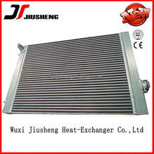 Custom made OEM plate bar China heavy equipment radiators in brazing construction
