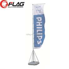 Factory direct One Stop sale telescopic pole with WATER BASE custom flag