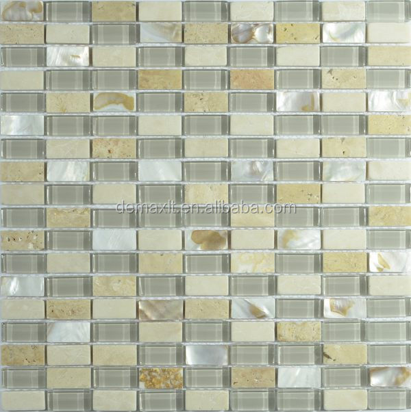 Stone Mix Golden Glass Mosaic for House Plans Pakistan tile price
