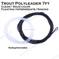 floating intermediate sinking trout polyleader