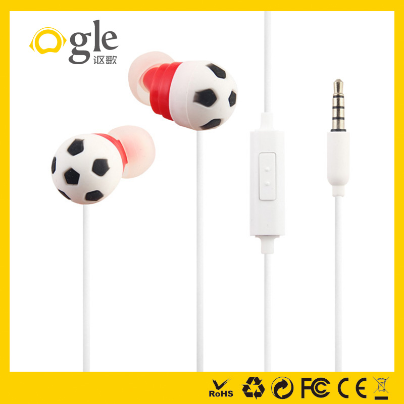 Ogle mobile accessories In-ear custom cute animal shape earphone