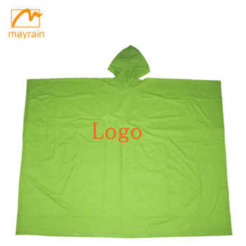 Reusable Adult PVC Rain Poncho