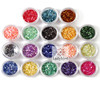 2014 crushed sea shell powder nail arts /nail decoration