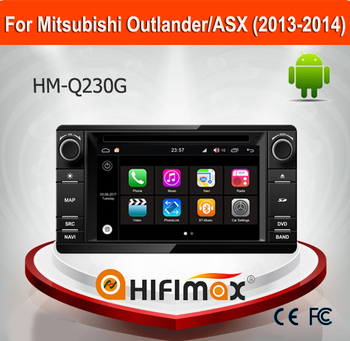 Hifimax Car DVD GPS Player For Mitsubishi Outlander 2013 2014 Android 7.1 Car DVD For Mitsubishi ASX Car Audio System